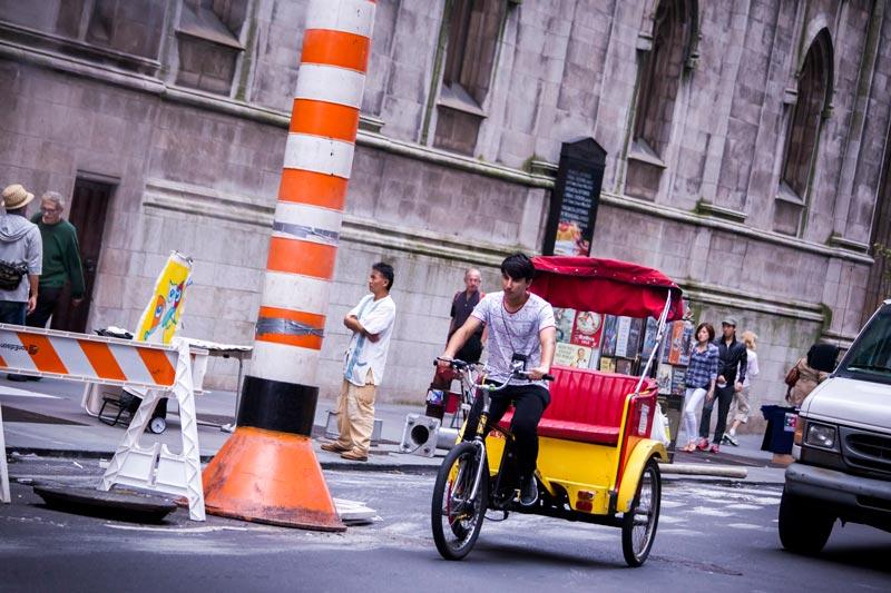 Pedicab-Accidents