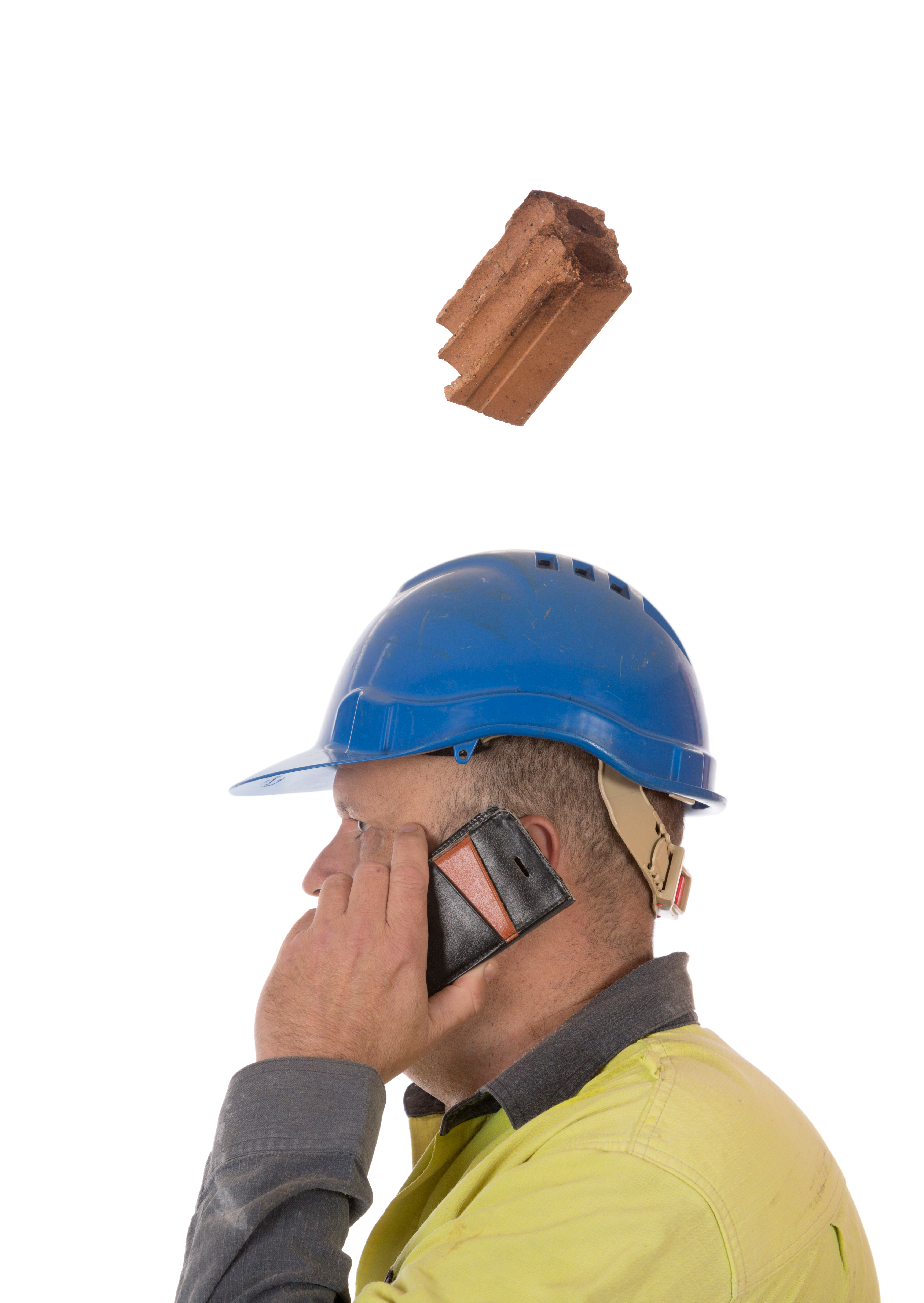 INJURIES DUE TO FALLING MATERIAL ON CONSTRUCTION SITES